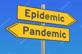 epidemic pandemic