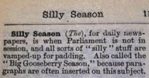 silly season